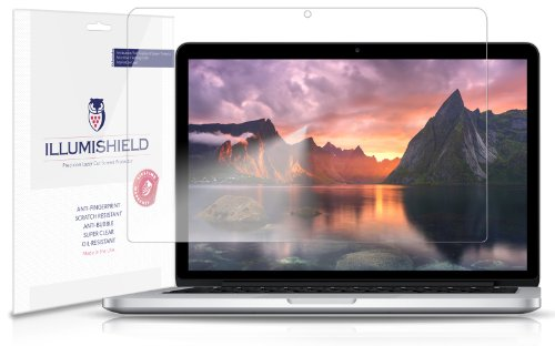 iLLumiShield-Apple-MacBook-Pro-13-Screen-Protector-2013-Japanese-Ultra-Clear-HD-Film-with-Anti-Bubble-and-Anti-Fingerprint–High-Quality-Invisible-LCD-Shield–Lifetime-Replacement-Warranty–2-Pack-OEM