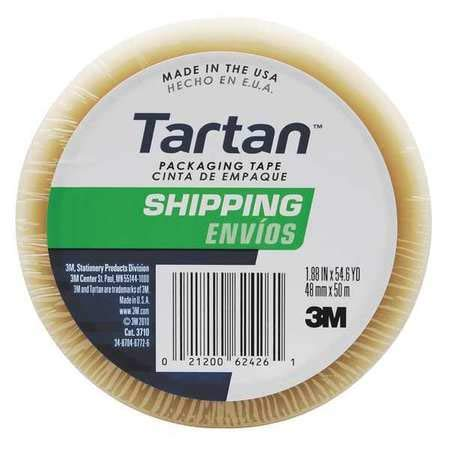 2'' Clear Packaging Tape 55 yd, (Pack of 5) by Tartan (Image #1)