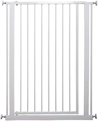 Huo Safety Gate Extra Tall Baby Stair Gate Pressure Fit Pet Door for Stairs DoorwayAll (Size : 111-118cm)
