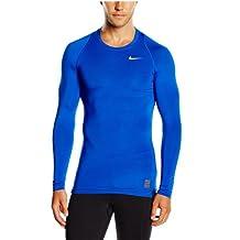 Nike Pro Combat Cool Compression LS Top (Royal Blue)