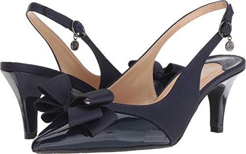 J. Renee Women's Gabino Navy/Navy 8 M US for sale  Delivered anywhere in USA