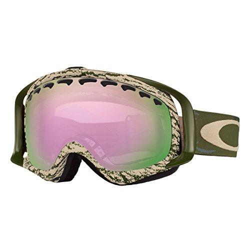 Oakley OO7005N-22 Crowbar Eyewear, Sheridan Khaki Olive, VR50 Pink Iridium - Oakley Japan