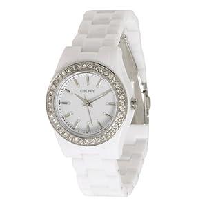 DKNY White Plastic Ladies Watch NY8145 by DKNY