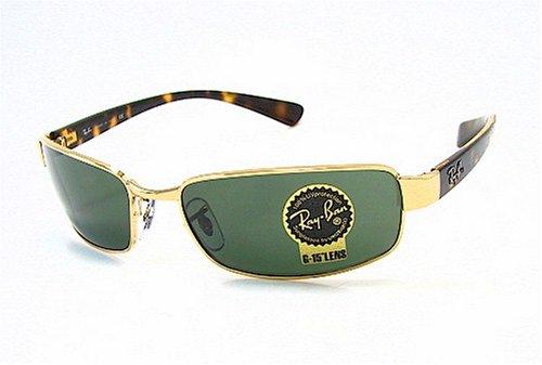 c7123b145012e6 RAY-BAN RAYBAN RB 3364 Gold 001 Sunglasses  Amazon.co.uk  Clothing