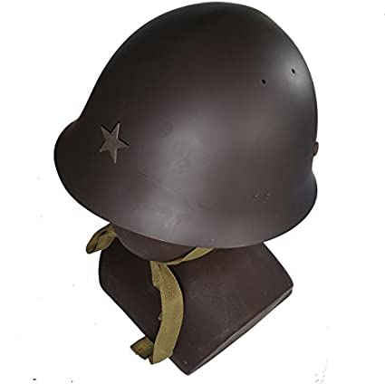 0837e147416 Amazon.com   Repro WWII Type 90 Japanese Soldier Helmet Metal Steel    Sports   Outdoors