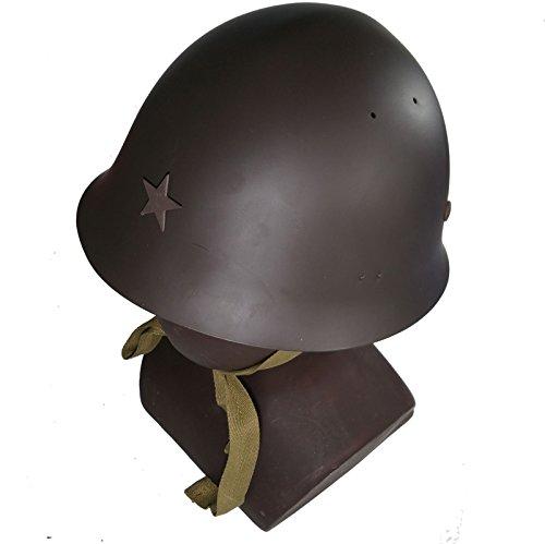 apanese Soldier Helmet Metal Steel (Japanese Wwii Replica)