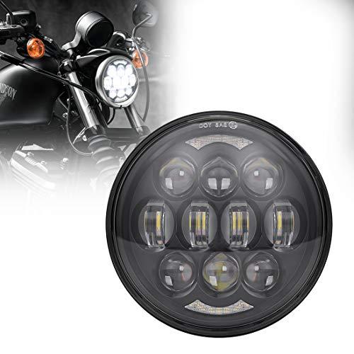 black harley davidson headlight - 3