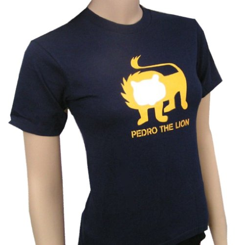 Guided By Voices T-shirt - PEDRO THE LION - Lion - Blue T-shirt - size Youth Medium