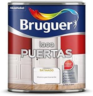 Laca para puertas Bruguer 2,5 L.(Blanco Permanente)