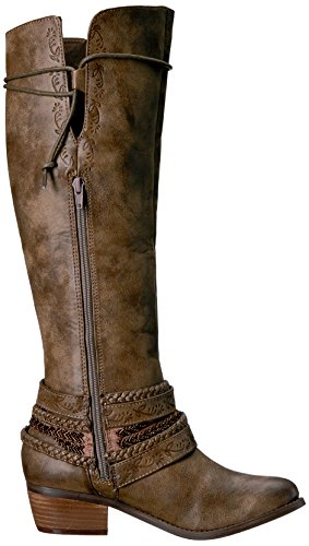 Non Valutato Womens Jurupa Riding Boot Taupe
