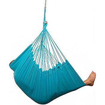 Amazon.com : Large Caribbean Hammock Chair - 48 Inch - Polyester ...