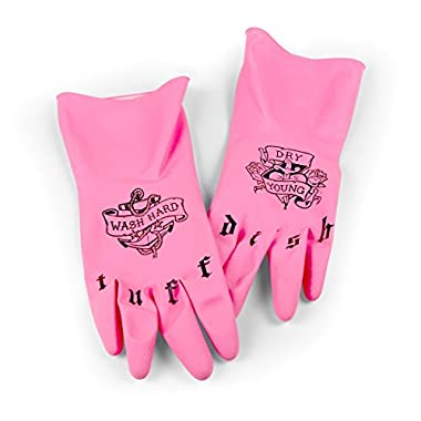 Fred & Friends TUFF DISH Tattooed Dish Gloves