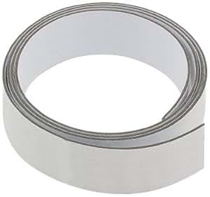 first4magnetsTM - Cinta adhesiva (1 m, 25 mm de ancho), color blanco