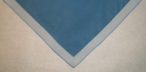 "Sanders Classics 44"" Square Wedgewood Blue Card (Bridge) Table Cover"