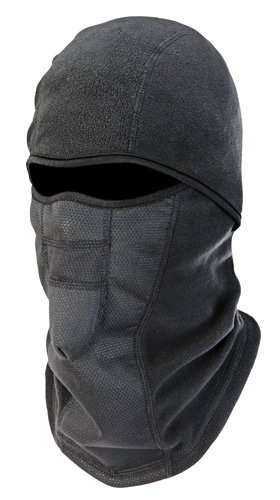N-Ferno 6823 Thermal Fleece Wind-Resistant Hinged Balaclava, Black (Full Thermal Mask Face)