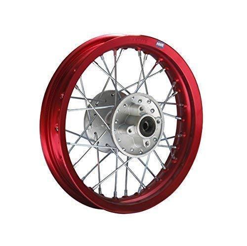 HMParts Pit//Dirt Bike//Traverser/ /Llanta de aluminio anodizado 12/trasero R