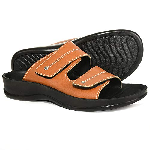 daf43976227e AEROTHOTIC Original Orthotic Comfort Dual Strap Sandals and Flip Flops with Arch  Support for Comfortable Walk