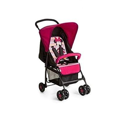 Cochecito de bebé con diseño de Minnie Mouse, color rosa: Amazon.es ...