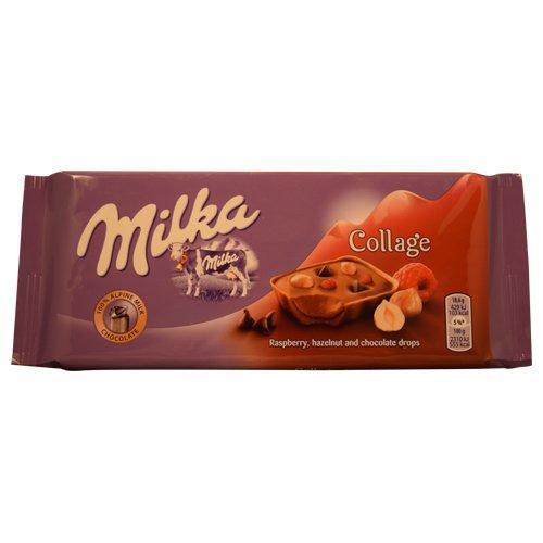 Milka Collage Alpine Milk Chocolate 93g