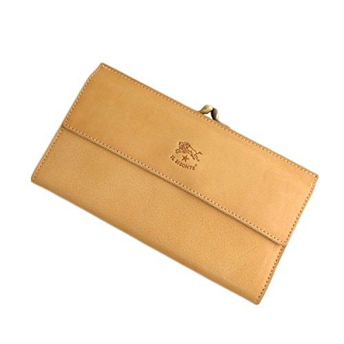 イルビゾンテ ILBISONTE 長財布 メンズ レディース C0911P-120 ナチュラル 財布小物 財布 短財布 mirai1-560169-ak [並行輸入品] [簡易パッケージ品] B07FQZYKBZ