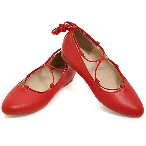 Taoffen Kengät Punainen Sitoa Mukavat Naisten rnwpvWqFzr