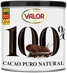 Chocolates Valor Cacao Puro 100% Natural,