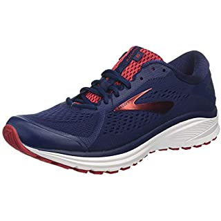 Brooks Men's Running Shoes, Blue Navy Cherry White 416 Running Shoes Near Me