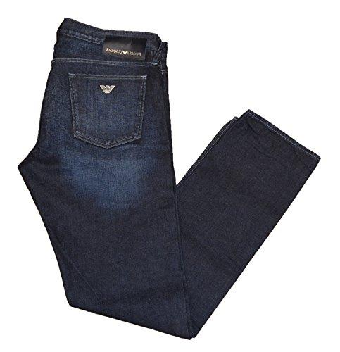 Emporio Armani Herren Jeanshose blau blau