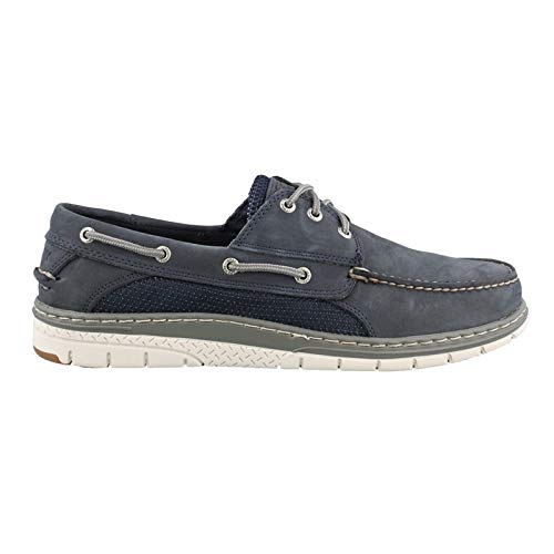 SPERRY Men's Billfish Ultralite 3-Eye Boat Shoe, Navy, 8 M US