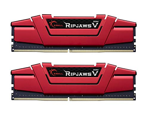 G.SKILL Ripjaws V Series 16GB (2 x 8GB) 288-Pin DDR4 SDRAM DDR4 3000 (PC4 24000) Desktop Memory Model F4-3000C16D-16GVRB