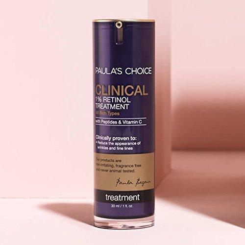 Amazon.com: Paula's Choice CLINICAL 1% Retinol Treatment Cream | Peptides, Vitamin C & Licorice Extract | Anti-Aging & Wrinkles | 1 Ounce: Beauty