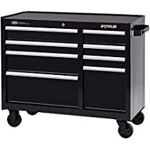 """Waterloo W300 Series 8-Drawer Rolling Tool Cabinet with Ball-Bearing Slides, 41"""" W"""