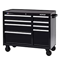Similar to its sister model the WCA-4111BK, this 8-drawer cabinet is perfect for the busy pro with a lot of different tools and equipment to store. Bulky power tools or heavy supplies can be stored in the 12.75 inch deep drawer with a double ...