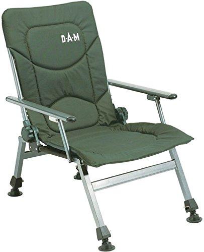 DAM Luxus Klappstuhl mit Armlehnen Chair 130Kg
