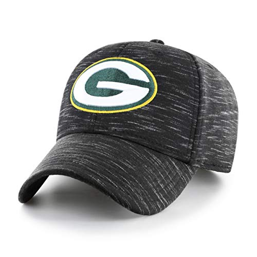 NFL Green Bay Packers Men's Space Shot OTS All-Star Adjustable Hat, Black, One Size