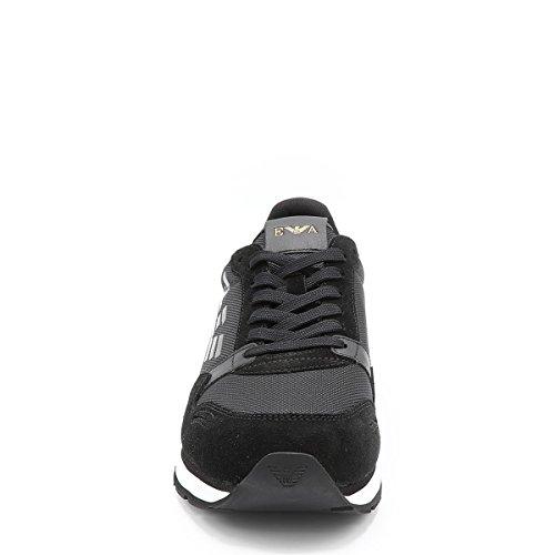 Emporio Armani Runner Sneaker Da Uomo Nero Nero