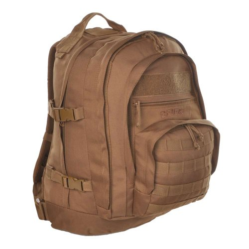 Sandpiper of California Three Day Pass Backpack (Brown, 20x14.5x8.5-Inch)