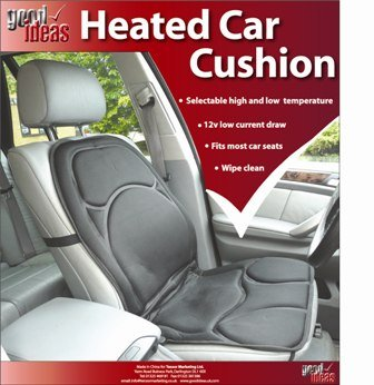 Pack Of 2 Heated Car Seat Covers Cushion With Auto Shut Off 721