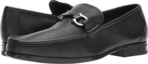 Salvatore Ferragamo  Men's Grandioso Loafer Nero 45 EE EU