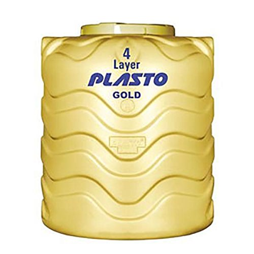 Buy Plasto 4 Layer Gold Overhead Water Tank Online at Low Prices in