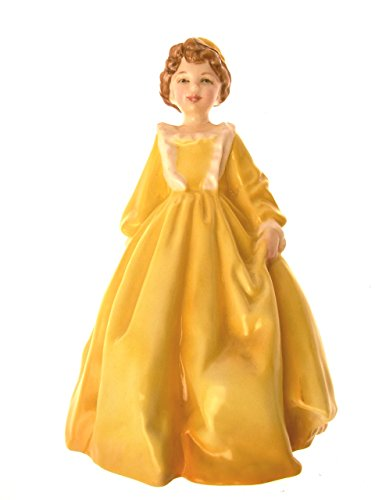 Royal Worcester Figurines - Royal Worcester Figurine Grandmother's Dress Yellow