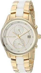 Michael Kors Women's Briar Gold-Tone Watch MK6466
