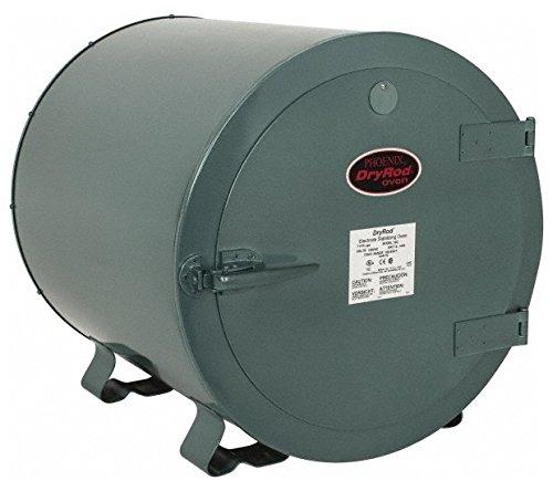 - 400 Electrode Capacity, 100 to 550F, Bench Welding Rod Oven AC Input Current, 120/240 Volt, 1,000 Watt, 23 Inch Wide x 30 Inch Deep x 23 Inch High