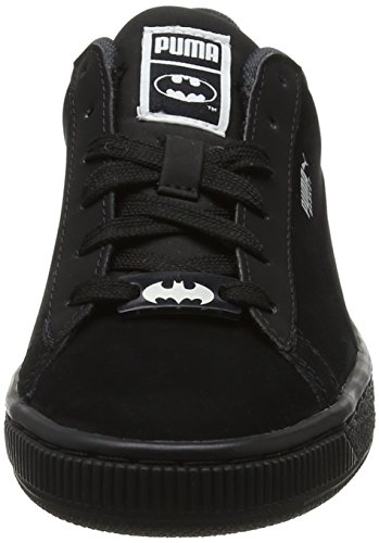 Puma JL Batman Basket Jr, Zapatillas Unisex Niños Negro (Black-black)