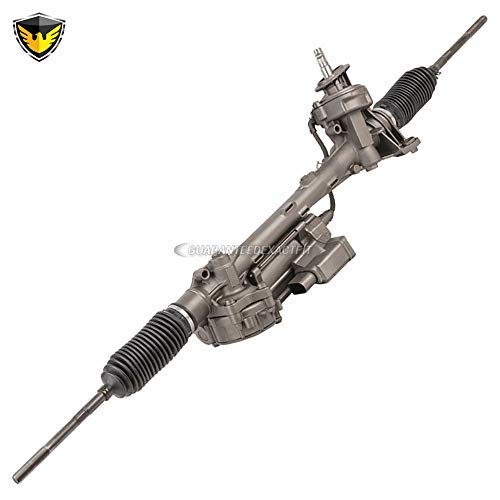 (Duralo Electric Power Steering Rack and Pinion For Volkswagen VW Jetta Golf Rabbit Passat Eos Audi A3 - Duralo 247-0088 Remanufactured)