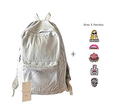 Amazon.com: College School Bags Backpacks Girls Denim Cute ...