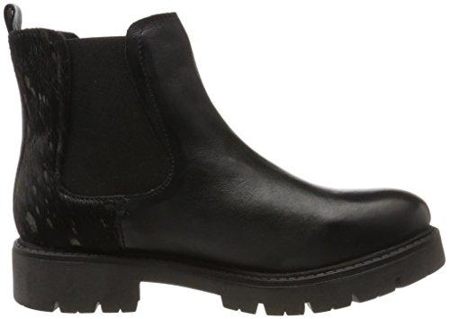 Maruti Damen Gipsy Hairon In Pelle Chelsea Boots Schwarz (splash Nero Nero)