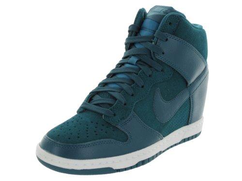 Nike Dunk Sky Hi Women Shoes Sneakers Color: Dark Sea 528899-300