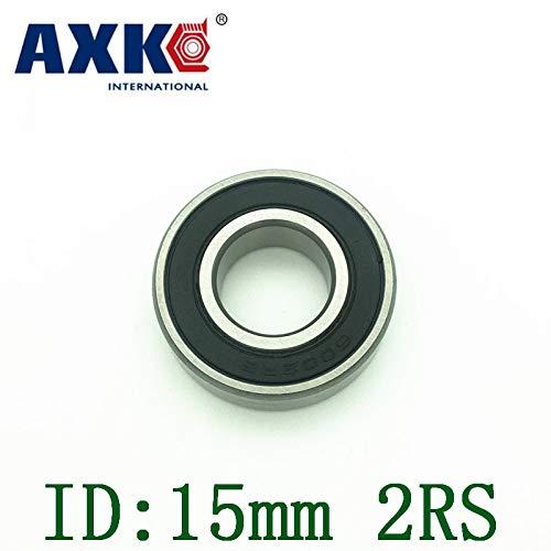 (Ochoos Non-Standard Bearing 15mm Id Double Rubber Cover 15245mm 15287mm 15328m 15329mm 153410mm 153511mm 153819mm - (Length: 15x34x10mm))
