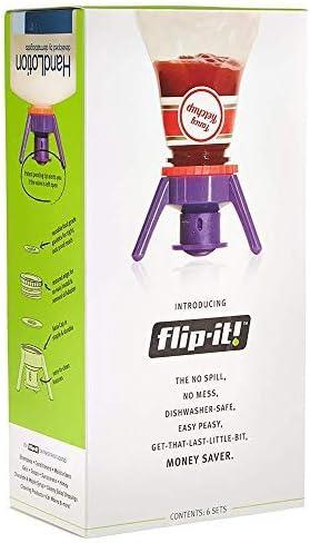 Bottle Emptying Kit-Flip Bottle Upside Down To Get Out of Honey,Ketchup Flip-it